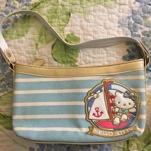 Hello Kitty Bags - Hello Kitty Nautical Canvas Purse and Wallet Set b5278fa96f5f6